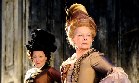 Frances Barber and Judi Dench